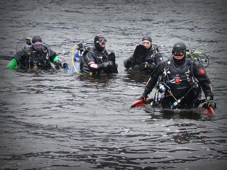 Carrick Castle Dive Exit - C-Divers, Central Scotland Dive Club