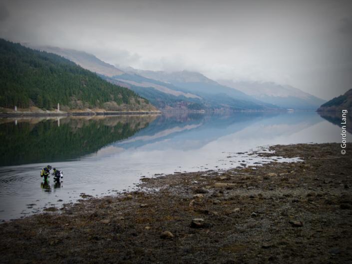 A-Frames Dive Site, Loch Long - C-Divers, Central Scotland Dive Club