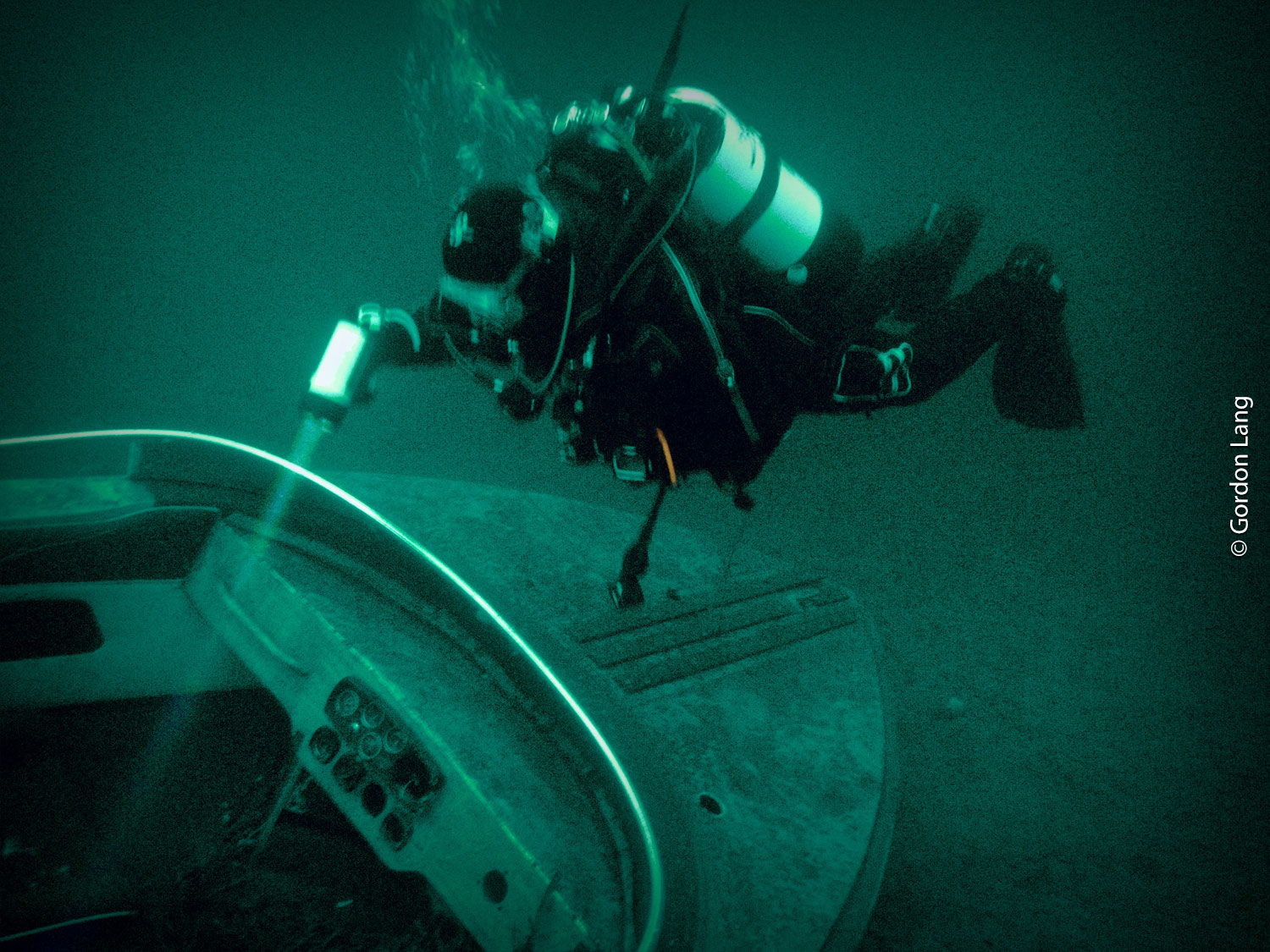 Sunken Speedboat, St Catherines, Loch Fyne - C-Divers, Central Scotland Dive Club