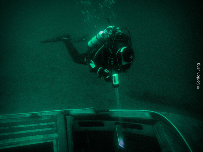 Sunken Speedboat, St Catherines, Loch Fyne - C-Divers, Central Scotland Dive Club